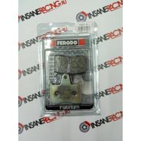 Ferodo FDB2111P Тормозные колодки дисковые MOTO, блистер 2 шт