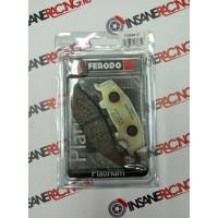 Ferodo FDB481P Тормозные колодки дисковые MOTO, блистер 2 шт