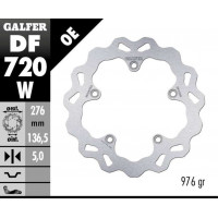 Лепестковый тормозной диск Galfer DF720W BMW R1200GS LC (68B407G9)