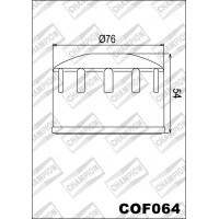 C325/301 фильтр масляный МОТО (зам.COF064)