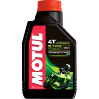 Моторное полусинтетическое масло Motul 5100 4T 10W-40 1L