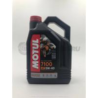 Масло моторное Motul 7100 5w40 4L