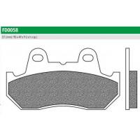 FD0058BT Тормозные колодки для HONDA VF400, CBR 1000, CBx 1100 (FDB538P) NEWFREN