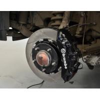 """Тормозная система передняя 365x34mm, Brembo GT 6 поршней, Toyota LC200, Lexus 570 колесные диски 18"""""""