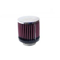 RC-0870 Воздушный фильтр нулевого сопр. d40 D76 H76 цилиндр, хром
