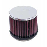 Фильтр нулевого сопротивления универсальный K&N RC-1150 Chrome Filter; посадочный d=52 mm