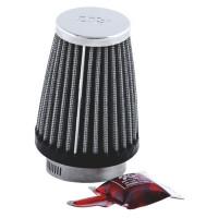 Фильтр нулевого сопротивления универсальный K&N RC-1290 Chrome Filter