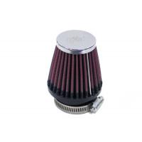 RC-2320 Воздушный фильтр нулевого сопр. d46 D76 H76 конус, хром