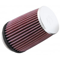 Фильтр нулевого сопротивления универсальный K&N RC-2600 Chrome Filter
