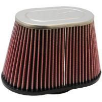 Фильтр нулевого сопротивления универсальный K&N RC-5040 Chrome Filter