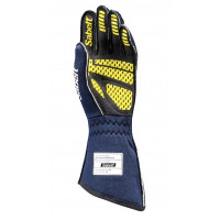 Перчатки для автоспорта Sabelt HERO TG-10, FIA 8856-2018, синий, размер 10, RFTG10BL10