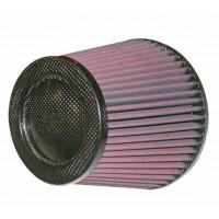 Фильтр нулевого сопротивления универсальный K&N RP-5113 Air Filter - Carbon Fiber Top