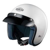 Шлем открытый SPARCO Club J-1 белый, размер XL, 0033174XL