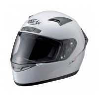 Шлем закрытый SPARCO Club X-1 белый, размер L, 0033193L