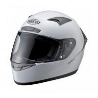 Шлем закрытый SPARCO Club X-1 белый, размер XL, 0033194XL