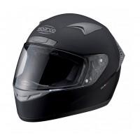 Шлем закрытый SPARCO Club X-1 черный, размер S, 0033191NS