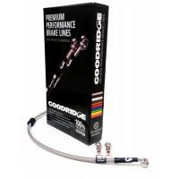 Армированные тормозные шланги GoodridgeTAA0100-4PCF (4 шт.) Honda Integra Typ R '97>