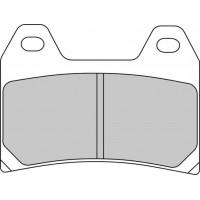 Ferodo FDB2042XRAC Тормозные колодки дисковые MOTO, блистер 2 шт