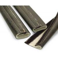 Термоизоляция для шлангов, 3,8сm*60 см силикон Fire Wrap 3000 DEI 010479