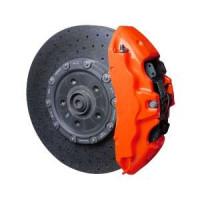 Краска для суппортов FOLIATEC NEON оранжевая, трёхкомпонентная (2183)