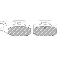 Ferodo FDB2235SG Тормозные колодки дисковые MOTO, блистер 2 шт