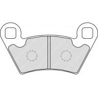 Ferodo FDB2236SG Тормозные колодки дисковые MOTO, блистер 2 шт